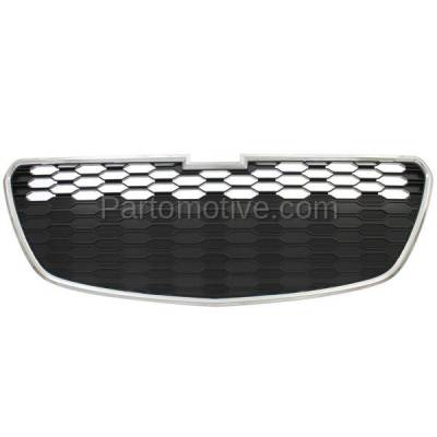 Aftermarket Replacement - GRL-1785C CAPA 13-15 Chevy Spark Lower Front Grill Grille with Fog GM1200658 95078760 - Image 1
