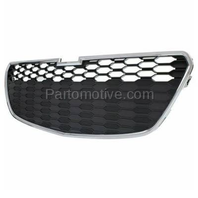 Aftermarket Replacement - GRL-1785C CAPA 13-15 Chevy Spark Lower Front Grill Grille with Fog GM1200658 95078760 - Image 2