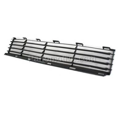 Aftermarket Replacement - GRL-2375C CAPA 04-09 Prius Front Lower Bumper Grill Grille Black TO1036112 5311147010 - Image 2
