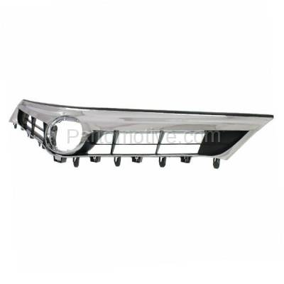 Aftermarket Replacement - GRL-2566C CAPA 13-15 Avalon Front Grill Grille w/o Pre-Collision TO1200357 5310107010 - Image 2