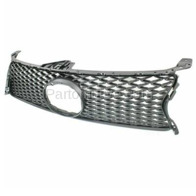 Aftermarket Replacement - GRL-2044C CAPA 13 14 15 GS-350/450h Front Grill Grille w/F-Sport LX1200142 5311130E00 - Image 2