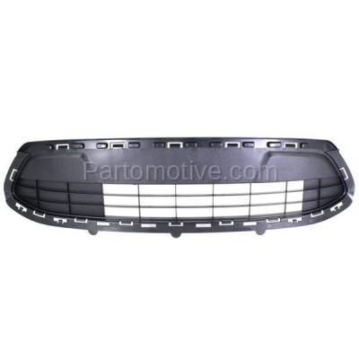 Aftermarket Replacement - GRL-1380C CAPA 11 12 13 Fiesta SE Front Lower Bumper Grill Grille FO1036140 AE8Z8200LA - Image 1