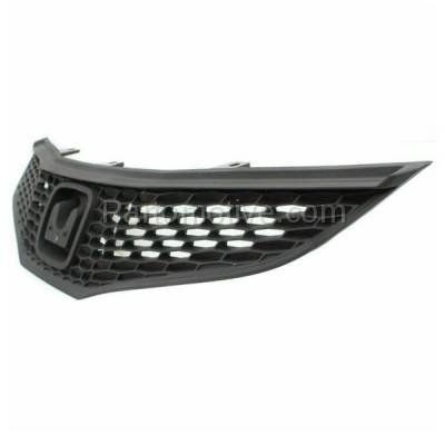 Aftermarket Replacement - GRL-1855C CAPA 09-13 FIT Hatchback Front Face Bar Grill Grille HO1200201 71121TK6A01 - Image 2