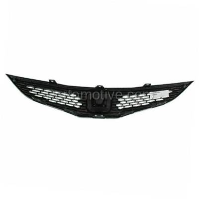 Aftermarket Replacement - GRL-1855C CAPA 09-13 FIT Hatchback Front Face Bar Grill Grille HO1200201 71121TK6A01 - Image 3