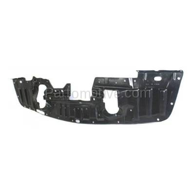 Aftermarket Replacement - ESS-1502C CAPA For 08-15 Lancer Front Engine Splash Shield Under Cover Undercar 5379A537 - Image 2