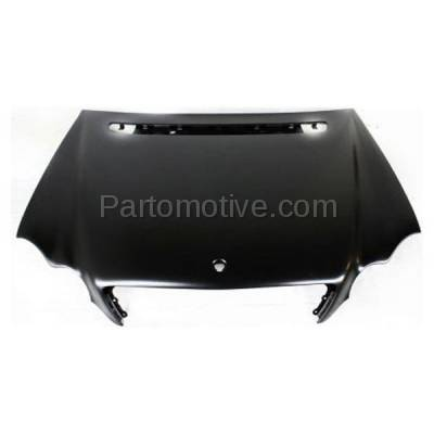 Aftermarket Replacement - HDD-1503 2001-2007 Mercedes-Benz C-Class C230/C240/C280/C320/C350/C32 AMG (4Matic, Base, Kompressor, Luxury, Sport) Front Hood Panel Assembly Primed Steel - Image 1