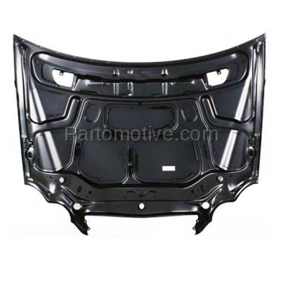 Aftermarket Replacement - HDD-1503 2001-2007 Mercedes-Benz C-Class C230/C240/C280/C320/C350/C32 AMG (4Matic, Base, Kompressor, Luxury, Sport) Front Hood Panel Assembly Primed Steel - Image 3