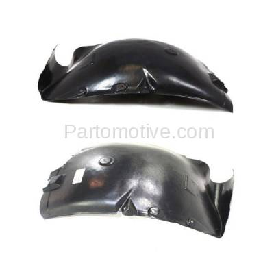 Aftermarket Replacement - IFD-1136L & IFD-1136R 07-09 Sprinter Front Splash Shield Inner Fender Liner Panel Left Right SET PAIR - Image 1