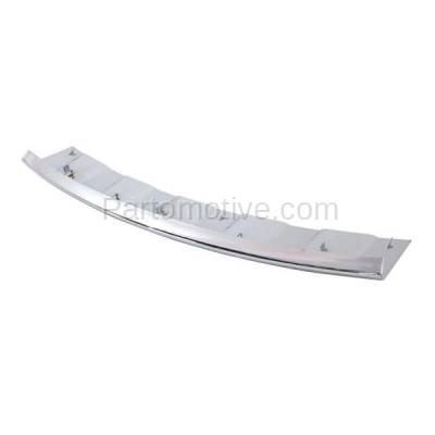 Aftermarket Replacement - VLC-1040F 11-13 Grand Cherokee Front Lower Skid Plate Valance Air Dam Deflector Apron Trim - Image 2