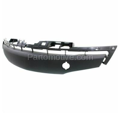 Aftermarket Replacement - GRL-2071C CAPA 12-13 Mazda3 Front Lower Bumper Grill Grille Gray MA1036117 BGV4501T2A - Image 2