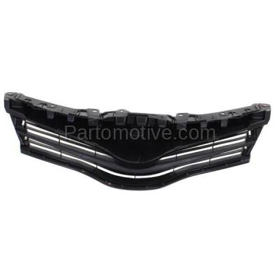 Aftermarket Replacement - GRL-2556C CAPA 12 13 14 Yaris Hatchback Front Grill Grille Black TO1200347 5311152500 - Image 1