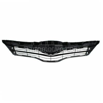 Aftermarket Replacement - GRL-2556C CAPA 12 13 14 Yaris Hatchback Front Grill Grille Black TO1200347 5311152500 - Image 3
