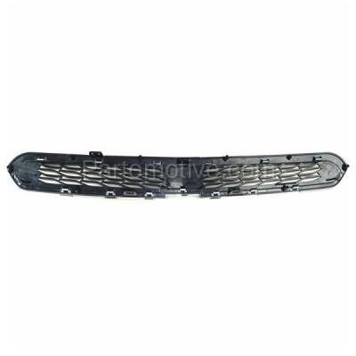 Aftermarket Replacement - GRL-1784C CAPA 13-15 Chevy Spark Upper Front Grill Grille w/o-Fog GM1200657 95078754 - Image 3