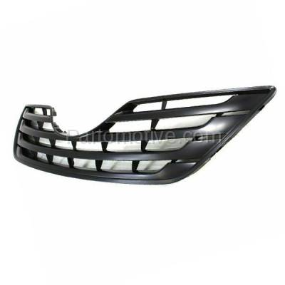Aftermarket Replacement - GRL-2505C CAPA 07-09 Camry CE/LE Front Grill Grille Black Shell TO1200288 5311106090C0 - Image 2