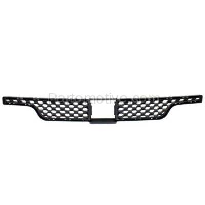Aftermarket Replacement - GRL-1222C CAPA 11 12 13 Durango Front Bumper Face Bar Insert Grill Grille 68089176AB - Image 1