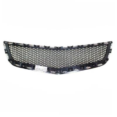 Aftermarket Replacement - GRL-1525C CAPA 09-12 Chevy Traverse Front Lower Bumper Grill Grille GM1036120 20756061 - Image 3