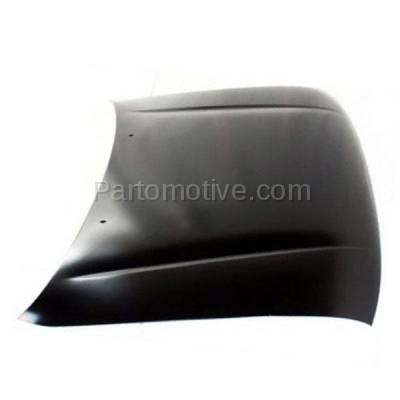 Aftermarket Replacement - HDD-1666 1995-2000 Toyota Tacoma Pickup Truck (DLX, Limited, Pre Runner, SR5) 2.4 & 2.7 & 3.4 Liter Front Hood Panel Assembly Primed Steel - Image 2