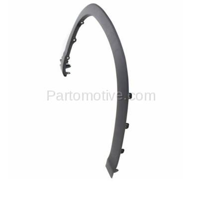 Aftermarket Replacement - FDF-1058RC CAPA For 14-16 Highlander Front Fender Flare Wheel Opening Molding Trim RH Side - Image 2