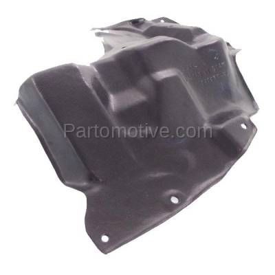Aftermarket Replacement - ESS-1591LC 2014-2019 Toyota Corolla 1.8L (with Manual Transmission) Front Engine Under Cover Splash Shield Undercar Guard Plastic Left Driver Side - Image 1