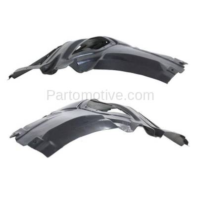 Aftermarket Replacement - IFD-1075L & IFD-1075R 11-16 5-Series Front Splash Shield Inner Fender Liner Panel Left Right SET PAIR - Image 2