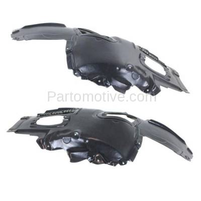 Aftermarket Replacement - IFD-1075L & IFD-1075R 11-16 5-Series Front Splash Shield Inner Fender Liner Panel Left Right SET PAIR - Image 3