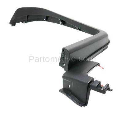 Aftermarket Replacement - FDF-1060LC CAPA For 07-14 FJ Cruiser Front Fender Flare Wheel Opening Molding Trim Left - Image 2