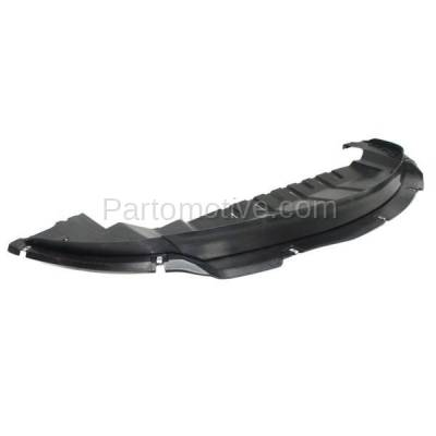 Aftermarket Replacement - ESS-1136C 2010-2019 Ford Taurus & Special Service Police (2.0L & 3.5L) Front Lower Engine Under Cover Splash Shield Undercar Air Deflector Plastic - Image 2