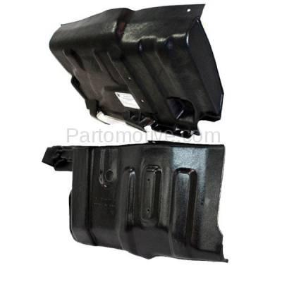 Aftermarket Replacement - ESS-1496L & ESS-1496R 97-04 Diamante Front Engine Splash Shield Under Cover Guard Left Right SET PAIR - Image 2