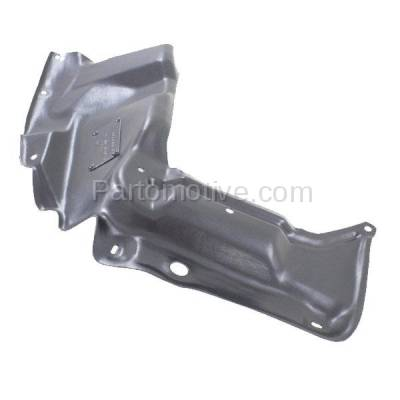 Aftermarket Replacement - ESS-1580LC CAPA For 03-08 Matrix Engine Splash Shield Under Cover w/Auto Trans Driver Side - Image 1