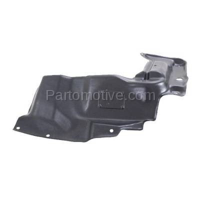 Aftermarket Replacement - ESS-1580LC CAPA For 03-08 Matrix Engine Splash Shield Under Cover w/Auto Trans Driver Side - Image 3