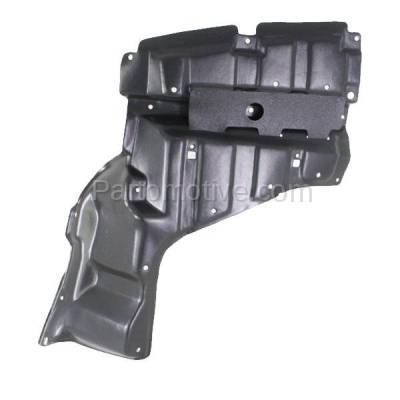 Aftermarket Replacement - ESS-1620RC CAPA For 04-09 Prius Front Engine Splash Shield Under Cover Guard RH Right Side - Image 1