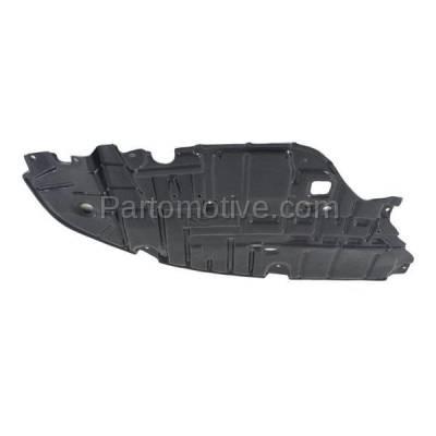 Aftermarket Replacement - ESS-1380LC 2013-2015 Lexus ES300h & ES350 (2.5 & 3.5 Liter) Front Engine Under Cover Splash Shield Undercar Guard Plastic Left Driver Side - Image 2
