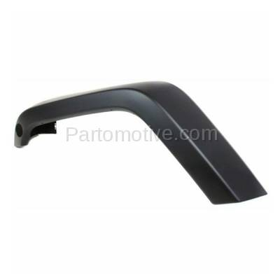 Aftermarket Replacement - FDF-1033LC CAPA For 07-17 Wrangler JK Front Fender Flare Wheel Opening Molding Trim Left - Image 2