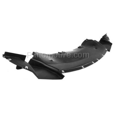 Aftermarket Replacement - ESS-1107C CAPA For 05-10 300 RWD Front Engine Splash Shield Under Cover Plastic 4806104AE - Image 2