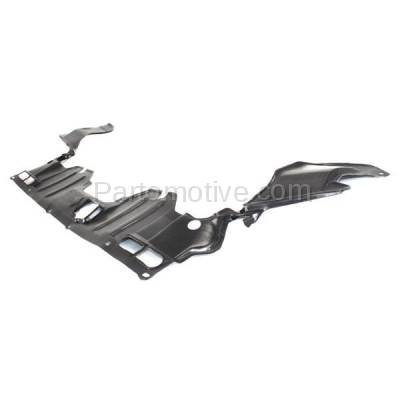 Aftermarket Replacement - ESS-1252C CAPA For 06-11 Civic Front Engine Splash Shield Under Cover Guard 74111SNAA00 - Image 2