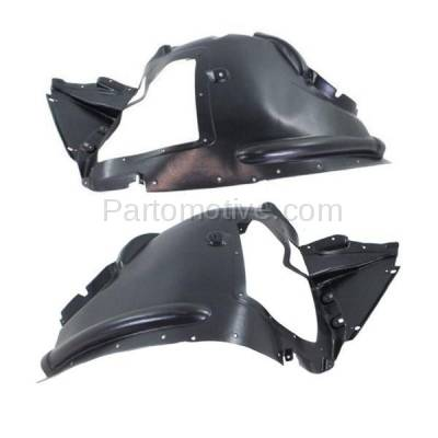 Aftermarket Replacement - IFD-1073L & IFD-1073R 07-13 X5, 10-11 X6 Front Splash Shield Inner Fender Liner Left & Right SET PAIR - Image 1