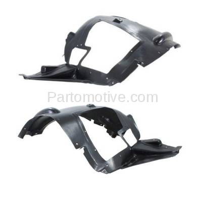 Aftermarket Replacement - IFD-1073L & IFD-1073R 07-13 X5, 10-11 X6 Front Splash Shield Inner Fender Liner Left & Right SET PAIR - Image 2