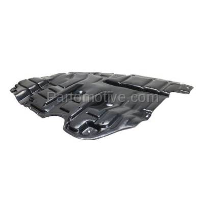 Aftermarket Replacement - ESS-1588RC 2015-2017 Toyota Camry 2.5L & 3.5L Front Engine Under Cover Splash Shield Undercar Guard Air Deflector Plastic Right Passenger Side - Image 2