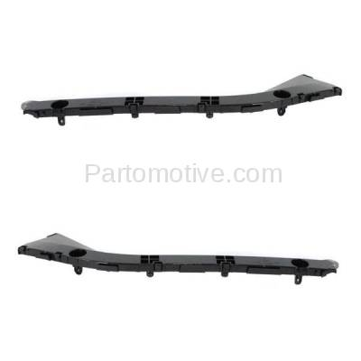 Aftermarket Replacement - BRT-1177RL & BRT-1177RR 04-09 Prius Hatchback Rear Bumper Cover Face Bar Retainer Mounting Brace Reinforcement Support Bracket Plastic SET PAIR Right Passenger & Left Driver Side - Image 1