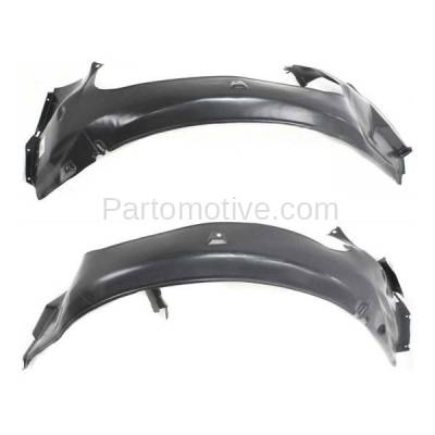 Aftermarket Replacement - IFD-1111L & IFD-1111R 92-99 3-Series Front Splash Shield Inner Fender Liner Panel Left Right SET PAIR - Image 2