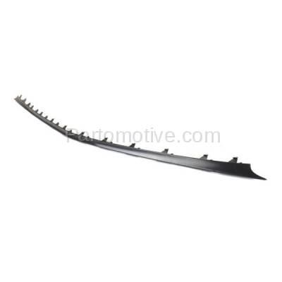 Aftermarket Replacement - VLC-1308F 03-06 E-Class Front Bumper Lower Spoiler Lip Valance Air Dam Deflector Apron Garnish Panel Primed - Image 2