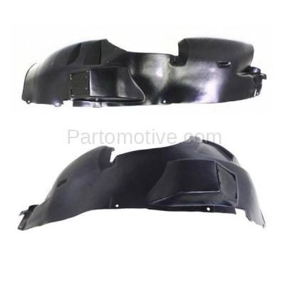 Aftermarket Replacement - IFD-1154L & IFD-1154R 08-10 Grand Cherokee Front Splash Shield Inner Fender Liner Left Right SET PAIR - Image 1