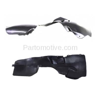 Aftermarket Replacement - IFD-1154L & IFD-1154R 08-10 Grand Cherokee Front Splash Shield Inner Fender Liner Left Right SET PAIR - Image 2