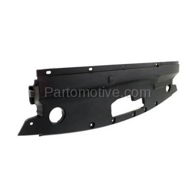 Aftermarket Replacement - RSP-1876 15-18 Edge Front Upper Radiator Support Sight Shield Splash Cover Air Deflector Panel Black Textured - Image 2
