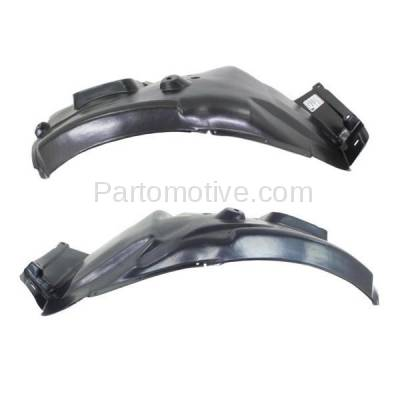 Aftermarket Replacement - IFD-1100L & IFD-1100R 06-12 3-Series Front Splash Shield Inner Fender Liner Panel Left Right SET PAIR - Image 1