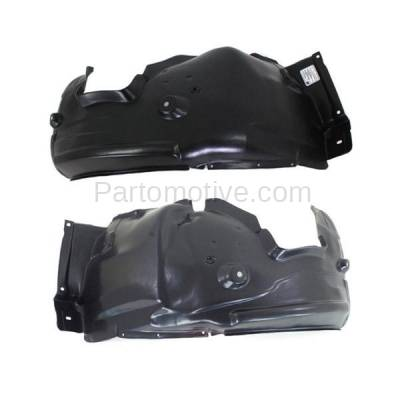 Aftermarket Replacement - IFD-1100L & IFD-1100R 06-12 3-Series Front Splash Shield Inner Fender Liner Panel Left Right SET PAIR - Image 3