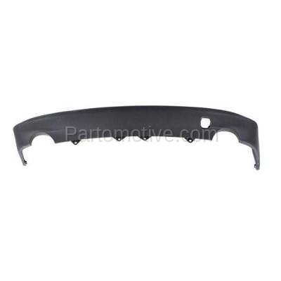 Aftermarket Replacement - VLC-1289R 2014-2016 IS200t, IS250, IS300, IS350 (Base & F Sport) Rear Lower Bumper Cover Spoiler Valance Air Dam Deflector Apron Garnish Panel - Image 1