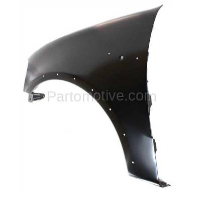 Aftermarket Replacement - FDR-1294LC 1997-2002 Ford Expedition & 1997-2003 F150/F250 & 2004 F150 Heritage Pickup Truck Front Fender (with Molding Holes) Left Driver Side - Image 3