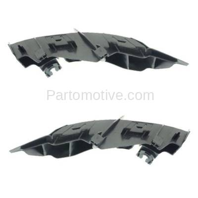 Aftermarket Replacement - BRT-1074RL & BRT-1074RR 2014-2018 Lexus IS200t, IS250, IS300, IS350 Rear Bumper Cover Upper Retainer Mounting Brace Support Bracket PAIR SET Right & Left Side - Image 2