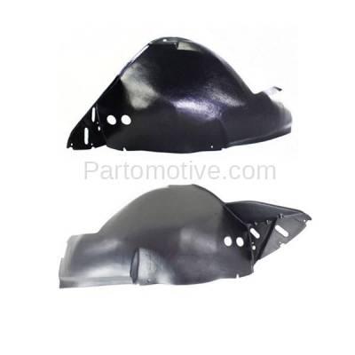Aftermarket Replacement - IFD-1229L & IFD-1229R 04-06 LS Front Splash Shield Inner Fender Liner Panel Left & Right Side SET PAIR - Image 3